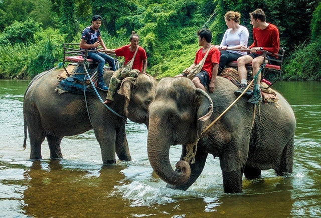 BANGKOK: Day Tour River Kwai With Elephant Riding and Bamboo Rafting with Lunch Photos