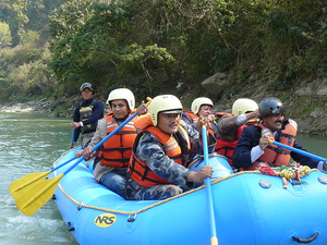 Trishuli White Water Rafting Photos