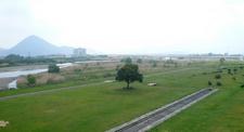 Riverside Park Along Yasu River