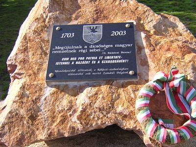 Rákóczi-memorial, Zamárdi