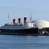 RMS Queen Mary At Long Beach Cruise Terminal
