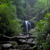 Roaring Fork With Grotto Falls