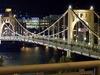Roberto Clemente Bridge - Allegheny River - Night View - Pittsburgh PA