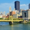 Roberto Clemente Bridge - Downtown Pittsburgh PA