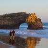 Rock Arch At NB State Beach - Santa Cruz CA