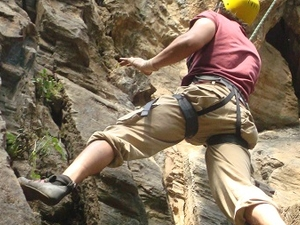 Rock Climbing at Nagarjun