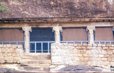 Rock-cut Jaina Temple