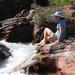 Rockwell Falls Trail At Glacier - Montana - U