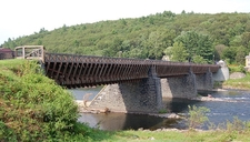 Roebling's Delaware Aqueduct - Pike County PA