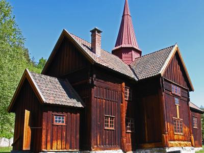 Rollag Stave Church