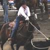 Roping A Calf At The Buffalo Bill