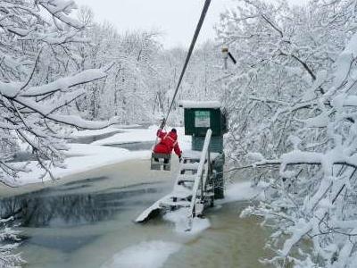 Roseau River Minnesota