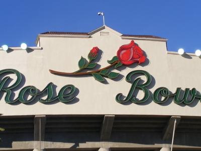 Rose Bowl Stadium In Pasadena California