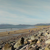Rossbeigh Beach From Rossbeigh Town - Ireland