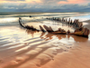 Rossbeigh Beach Sunbeam Wreck - Ireland