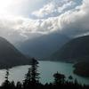 Diablo Lake From Hwy 20