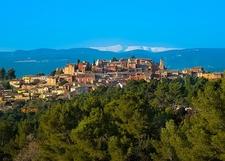 Roussillon In Surrounding Landscape