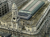 Aerial View Of The Royal Exchange