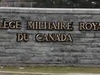 Royal  Military  College Of  Canada Fence