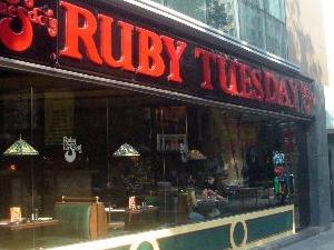 RUBY TUESDAY - CR - II