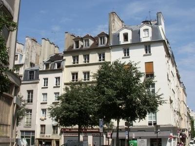 Rue Pastourelle In Paris