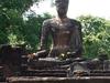 Ruins Inside The Kamphaeng Phet Historical Park