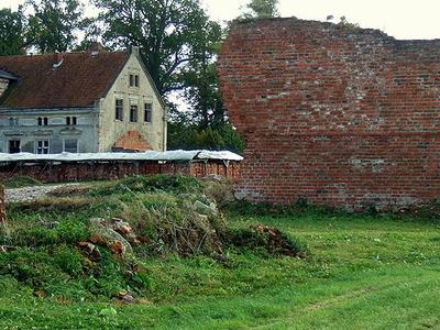 Ruins  Manor House Zdzieszowice Poland