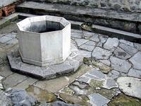 Las ruinas de baño Pasha Memi