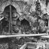 Las ruinas del baño turco Valide Sultana