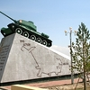 Russian Tank At Zaisan Memorial