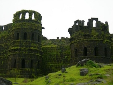 Raigad Fort Towers