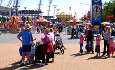 Arriving At The Showground During The Royal Easter Show