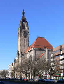 Another View Of Charlottenburg Town Hall