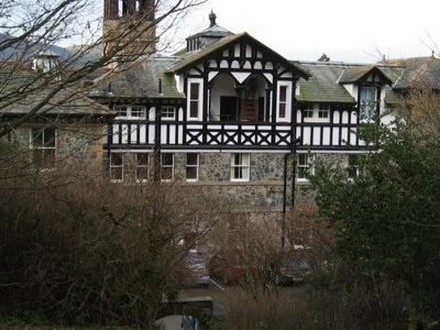 Rear View Of Bassenfell Manor