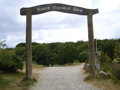 Rebild National Park Entrance