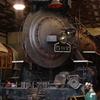 Mikado Steam Locomotive #587 In Shops At ITM
