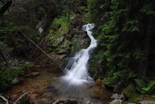 Retezat Mountain Spring Waterfall