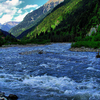 Rioni River In Racha Region