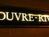 Louvre - Rivoli Signage
