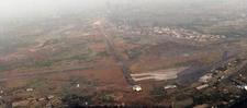 Roberts International Airport Aerial View