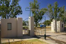 Robertson Oval Entrance