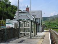 Roman Bridge Railway Station