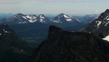 Romsdalshornet From Breitinden