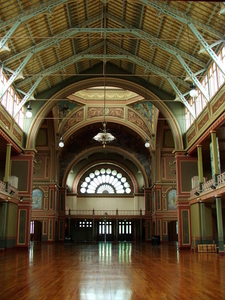 Royal Exhibition Building Inside