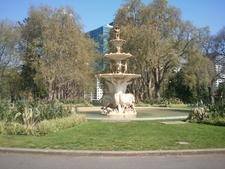 Royal Exhibition Building Fountain