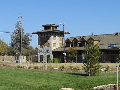 Rocklin California   Amtrak Station