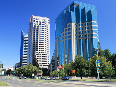 Sacramento Skyline - California