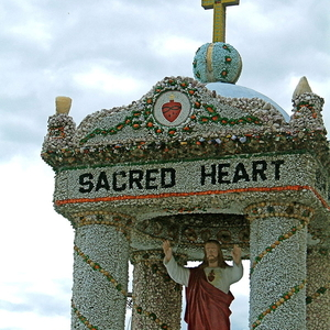 Sacred Heart Shrine At The Dickeyville Grotto