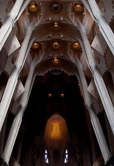Sagrada Família Ceiling