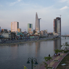 Saigon River & Ho Chi Minh City Downtown